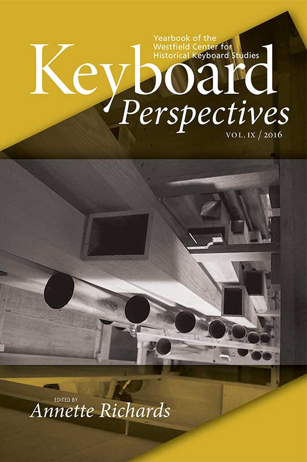 Cover of Keyboard Perspectives IX