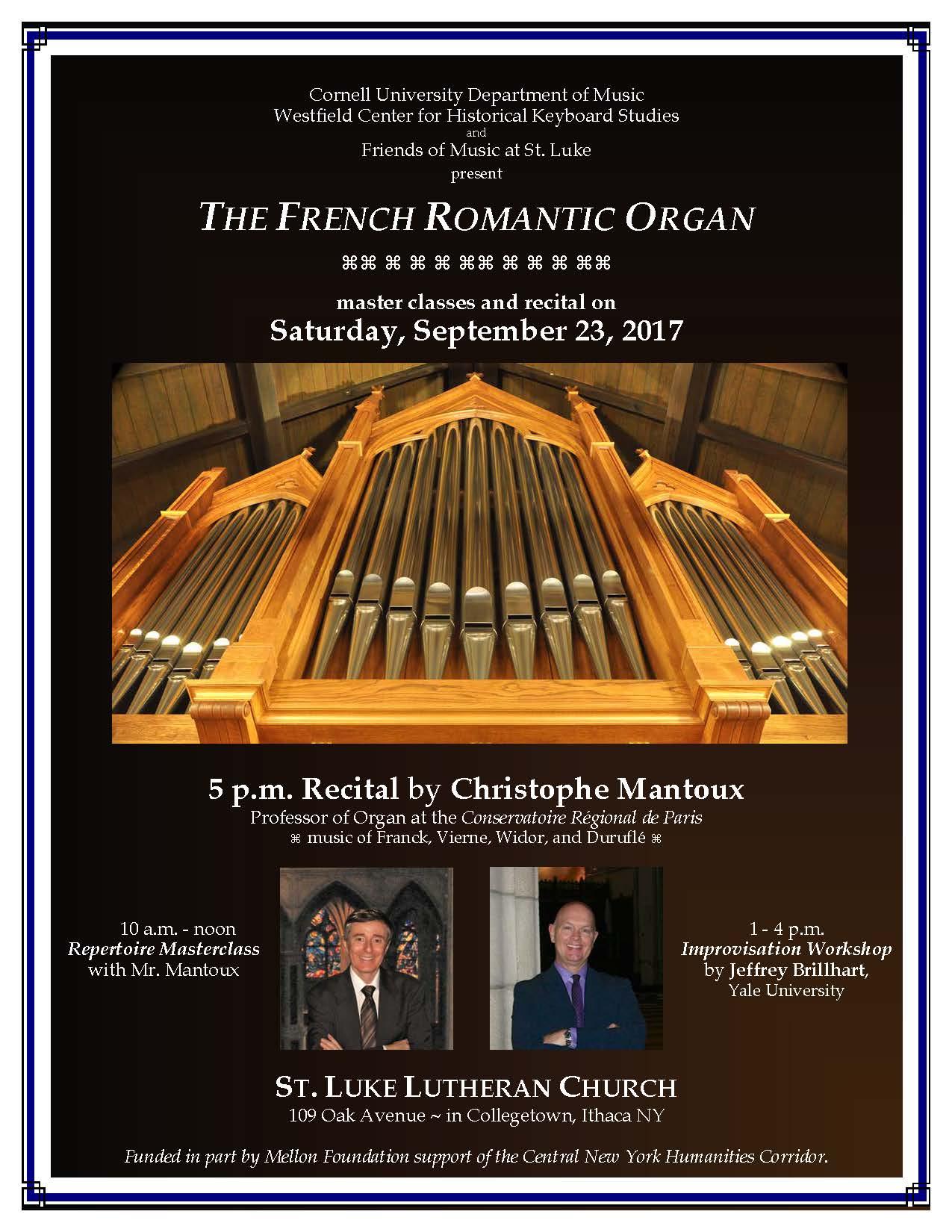 French Romantic Organ - Westfield Center