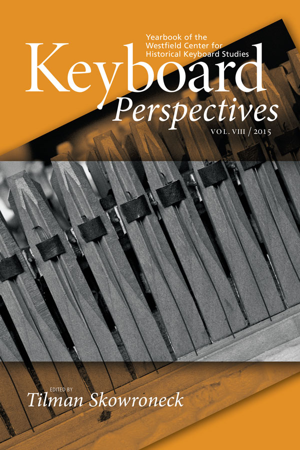 Cover of Keyboard Perspectives VIII